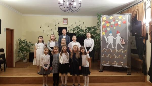 Koncert popisowy uczniów klasy fortepianu pana Pawła Górczyńskiego