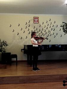 I Konkurs skrzypcowy na najlepsze wykonanie etiudy