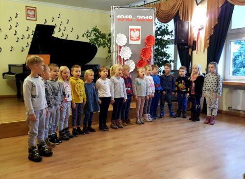 Patriotyczny koncert dla przedszkolaków