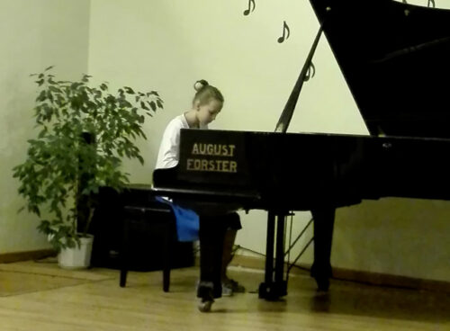 Koncert popisowy uczniów klasy fortepianu