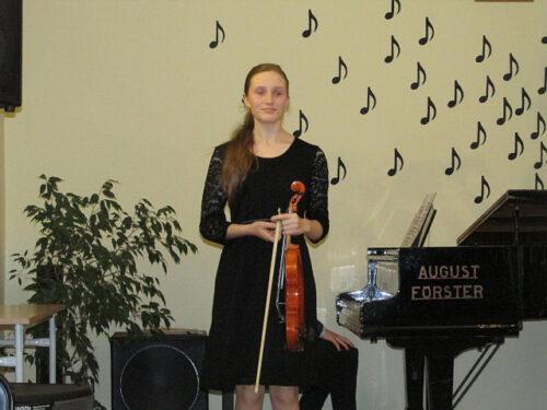Popis uczniów klas skrzypiec