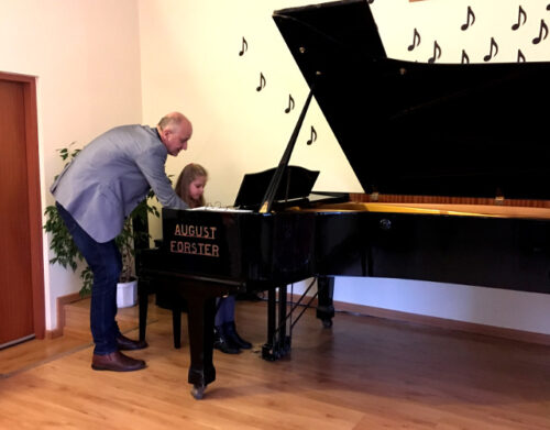 Warsztaty pianistyczne – lekcje dla uczniów i nauczycieli